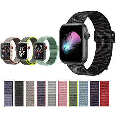 CINTURINO per Apple Watch series 4 3 2 1 SPORT RUN PRO NYLON 44 42 40 38 mm