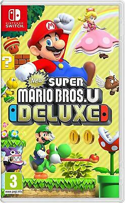 New Super Mario Bros. U Deluxe (Nintendo Switch) Brand New - Region Free