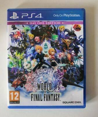 World Of Final Fantasy PS4 SAME DAY Dispatch [Order By 4pm]