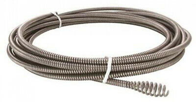 Inner Core Cable Replacement with Bulb Auger Steel Flexible C1IW 5/16 x 25Ft