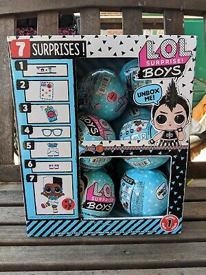 LOL SURPRISE BOYS SERIES DOLL BALL NEW 2019 100% AUTHENTIC US Seller Blue L.O.L