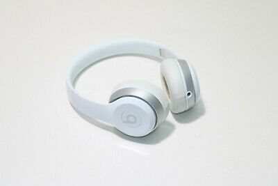 Beats by Dr. Dre Solo 2 B0518 Wired On-Ear White Headphones