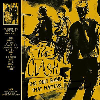 The Clash - The Only Band That Matters: Limited Edition On Inca Gold Vinyl