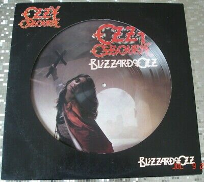 "Ozzy Osbourne ‎– ""Blizzard Of Ozz"" Picture Disc LP   Epic ‎– 88697874711"