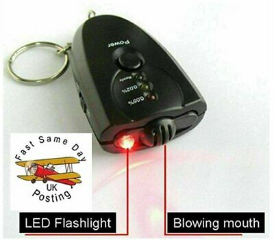 Professional Police Breath-Alcohol Tester LCD Digital Breathalyzer  +2 battery's