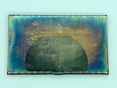 TIFFANY & CO. SILVER PLATE BUSINESS CARD HOLDER (51.1g)