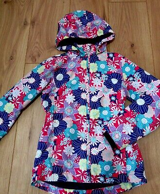 £48 jacket Girls next Hooded Rain Coat NAME It 8 - 9 - 10 Years LIGHT SUMMER