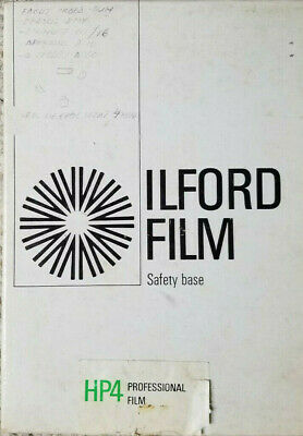 Iflord HP5 5 x 7 Sheet Film Partial Box 20 Sheets. Expired