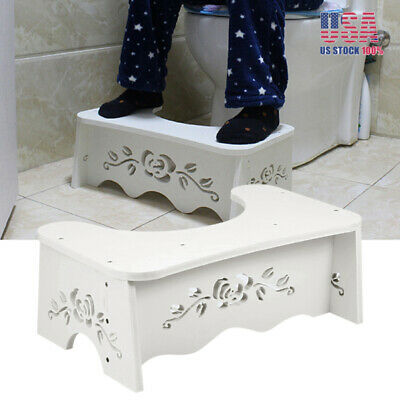 """7"""" Universal Aid Squatty Step Foot Stool Potty Help Prevent Constipation Toilet"""