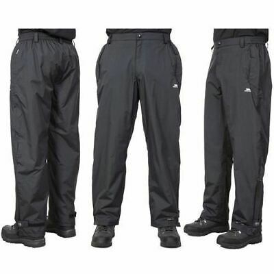 Mens Waterproof Trousers XS-XL Trespass Men's Golf Sports Rain Trousers Breathab