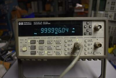 HP/Agilent 53131A Universal Counter 3 GHz with option 010 and 030