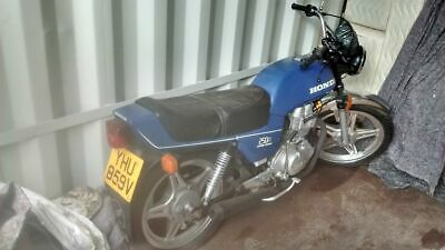 Honda CB 250  Running restoration project