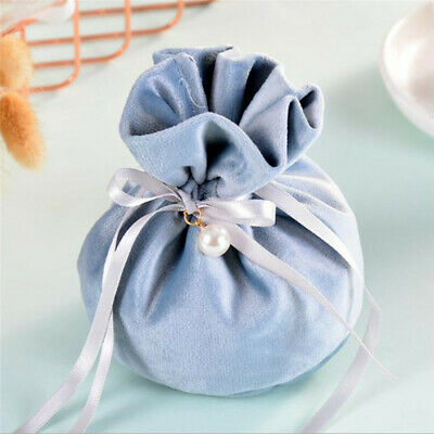 Candy Velvet Jewelry Drawstring Wedding Gift Bag Favour Candy Pouches Bags LH