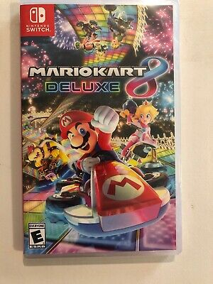 Mario Kart 8 Deluxe for Nintendo Switch - Brand New Fast Free Ship