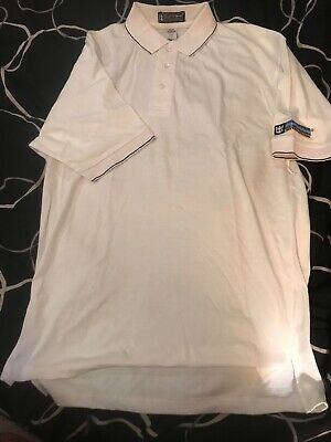 Royal Caribbean Cruise Line White  Collared POLO Shirt NEW Size M Casino Royale