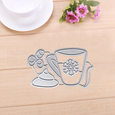 Coffee Cup Metal Cutting Dies Stencils for Scrapbooking Carf Embossing Craft
