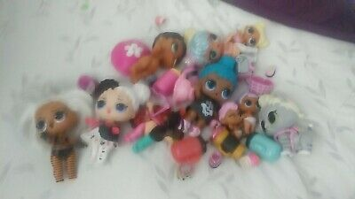 Lol Surprise Dolls Lot Tons Of Accessories