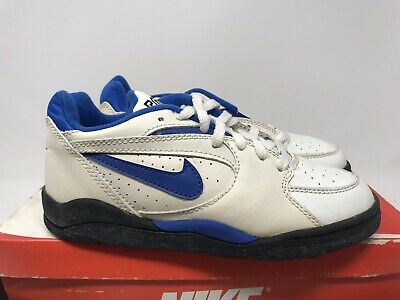 8a6014e0bc3b4 VINTAGE NIKE COURT force low sneakers shoes big kids size 5.5 ...