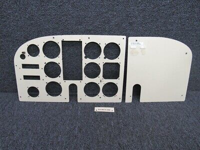CESSNA INSTRUMENT PANEL over lay retainer nuts ( set of 5) - $8 00