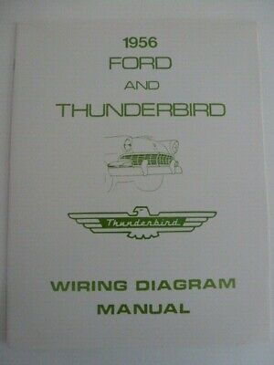 1956 ford & thunderbird wiring diagram manual