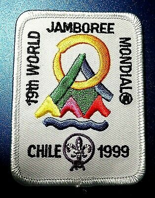 1999 WSJ WORLD SCOUT JAMBOREE BADGE BSA 2019 2023 WOSM sponsored reproduction
