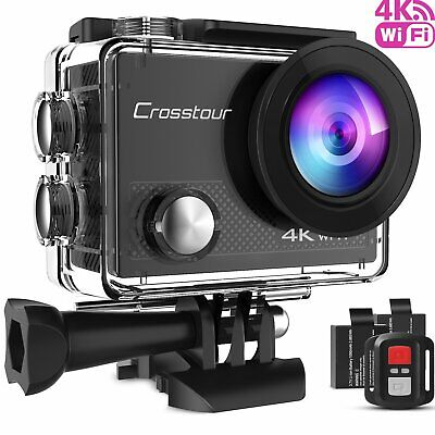 Action Camera 4K Camcorder WiFi Waterproof 16MP Sport Cam Accessorie Kit