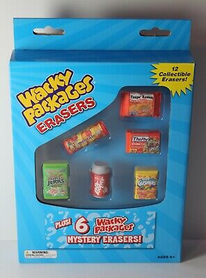 American rubber set 2011 Set of 12 TOPPS 6055 Wacky Packages Erasers