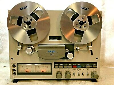 Teac X-3  Stereo Tape Deck  Reel-To-Reel - Excellent !!!