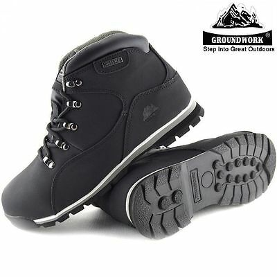 Ppe Mens Ladies Womens Groundwork Leather Steel Toe Cap Safety Work Boots Shoes