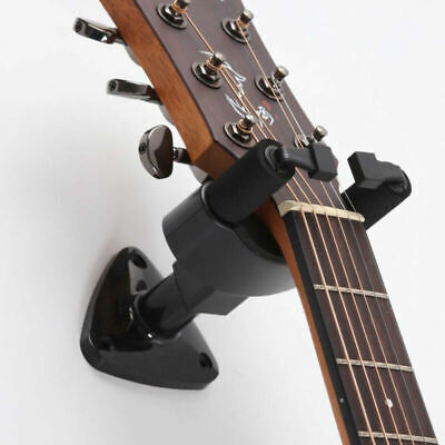 Guitar Bass Accessory Wall Mount Hanger Holder Hook Auto Grip System Safe Lock
