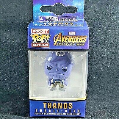Thanos Bobble-Head #27301 Funko Pocket Pop Keychain Avengers Infinity War