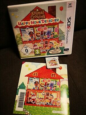 JEU CONSOLE NINTENDO 3DS DS - Animal Crossing Happy Home Designer