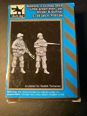 F35139 Black Dog 1//35 Modern US Sniper No.2 with Rifle standing Resin Figure