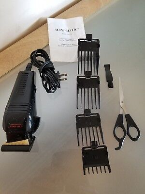 MAXI MATIC ELECTRIC CLIPPER 7 PIECE SET Razor - EXCELLENT CONDITION
