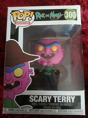 Scary Terry No Pants Exclusive Pop Vinyl Rick and Morty