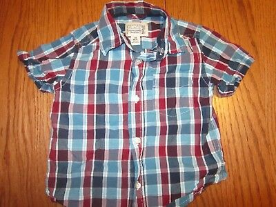 Children's Place Plaid Shirt Size 18 Months