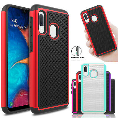 For Samsung Galaxy A10e A20 A30 A50 Shockproof Slim Case Protective Rugged Cover