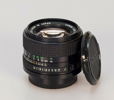 Canon FD 1.4 50mm N new // Sn:2689001