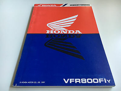 Manuale Officina/Nachtragshandbuch VFR 800 Fi - (Y) (1999) (RC46/1)