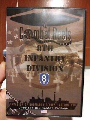2ND INFANTRY DIVISION: Normandy Invasion Combat Camera Film Footage