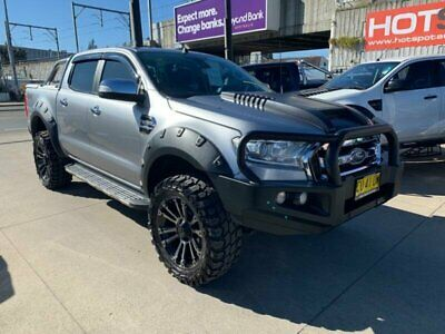 2016 Ford Ranger PX MkII XLT Silver Automatic A Utility