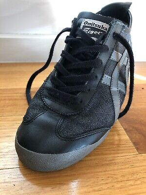 the latest aaa9c 714e5 ASICS ONITSUKA TIGER Mexico 66, Size US 7, black/grey canvas