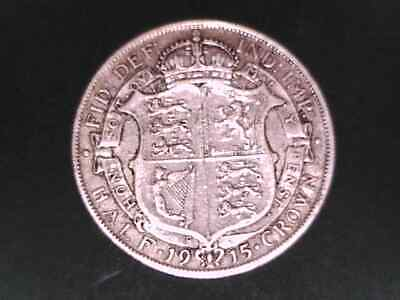 Great Britain 1915 Half Crown