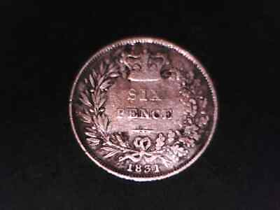 Great Britain 1831 Six Pence