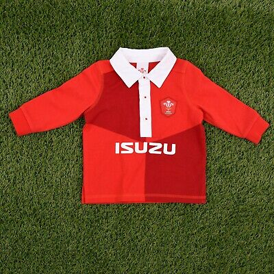 Wales Rugby Football Union 2019-2020 Kit baby kids Welsh Rugby Shirt WRU905
