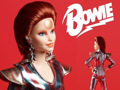 David Bowie Mattel Barbie Doll ***PREORDER*** Will Ship ASAP! SHIPS JULY 2019!