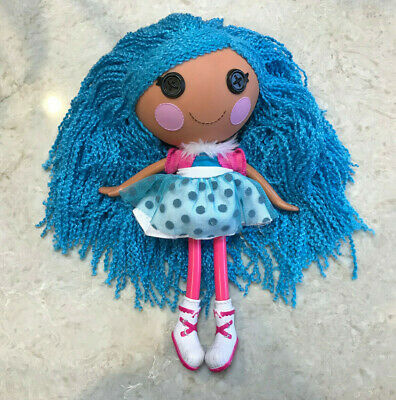 Lalaloopsy Loopy Hair Mittens Fluff n Stuff doll GREAT CONDITION