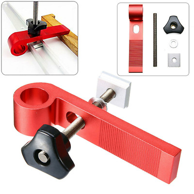 4 Pcs/Set Universal Clamping Blocks Clamps Woodworking Joint Hand M8 Screw Tool