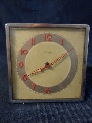 Alarm Clock Clock Travelling Antique Brand Kienzle Vintage to Be Restored