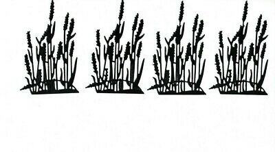 Bullrushes die cuts